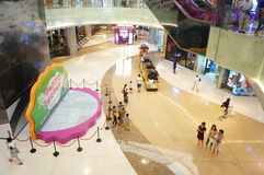 Shenzhen, China: large comprehensive shopping malls Royalty Free Stock Image