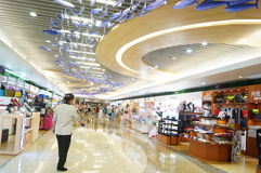 Shenzhen, China: large comprehensive shopping malls Royalty Free Stock Images
