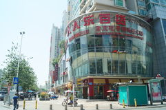 Shenzhen, China: large department stores Stock Photography