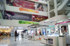 Shenzhen, china: a large shopping center landscape Royalty Free Stock Image