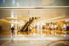 Shenzhen, China: large shopping malls Royalty Free Stock Photography