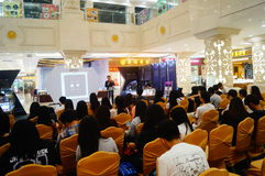 Shenzhen, China: a lecture on the road of diamond trade Stock Photo