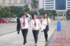 Shenzhen, China: legal publicity and education activities Royalty Free Stock Photography