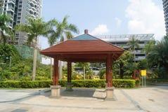 Shenzhen, China: leisure Pavilion Royalty Free Stock Photo