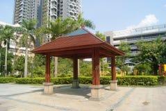 Shenzhen, China: leisure Pavilion Stock Photo