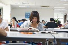 Shenzhen, China: library interior landscape Royalty Free Stock Image