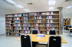 Shenzhen, China: library interior landscape Stock Photography