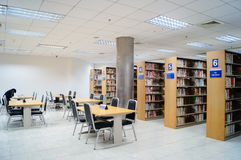 Shenzhen, China: library interior landscape Stock Photo