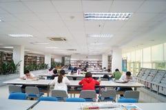 Shenzhen, China: library interior landscape Royalty Free Stock Photography