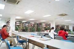 Shenzhen, China: library interior landscape Stock Photo