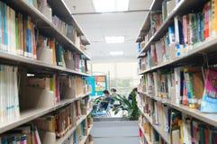 Shenzhen, China: library interior landscape Stock Image