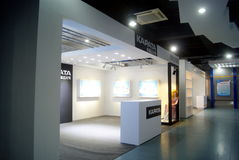 Shenzhen, china: lighting products exhibition Stock Photos