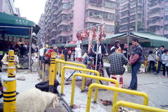 Shenzhen, china: live slaughter live sheep stock photos