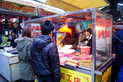 Shenzhen china: local snacks Stock Photos