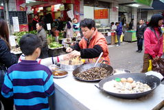 Shenzhen china: local snacks Stock Photo