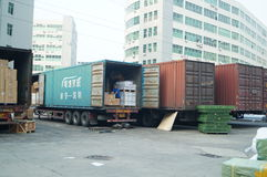 Shenzhen, China: Logistics Park Stock Photo