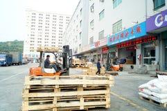 Shenzhen, China: Logistics Park Royalty Free Stock Photography