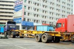 Shenzhen, China: Logistics Park Stock Images