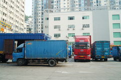 Shenzhen, China: Logistics Park Royalty Free Stock Image