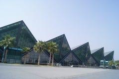 Shenzhen, china: longgang stadium Royalty Free Stock Images