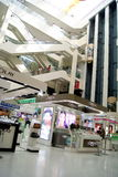 Shenzhen, china: mall interior landscape Stock Image