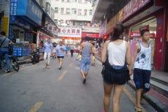 Shenzhen, China: Market Landscape Stock Image