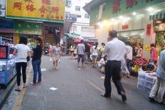 Shenzhen, China: Market Landscape Stock Photos