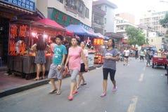 Shenzhen, China: Market Landscape Royalty Free Stock Images