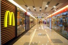 Shenzhen, china: mcdonald's restaurant Royalty Free Stock Images