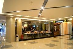 Shenzhen, china: mcdonald's restaurant Royalty Free Stock Image