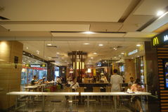 Shenzhen, China: McDonald's restaurants Stock Images