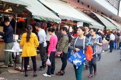 Shenzhen, China: Meat Market Stock Images
