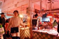 Shenzhen, China: Meat Market Stock Photography