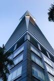 Shenzhen, China Merchants Bank Building - Pyramid Perspective Stock Photography