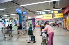 Shenzhen, China: Metro Station Stock Image