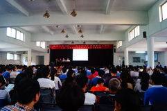 Shenzhen, China: Middle School Psychology Education Conference Stock Photography