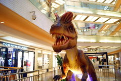 Shenzhen china: model dinosaur Stock Photography