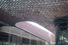 Shenzhen, China: Nanshan kulturell und Sportzentrum stockfotos