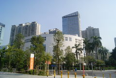 Shenzhen, China: Nanshan Library Royalty Free Stock Image