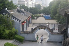 Shenzhen, China: Nantou ancient architecture scenery Royalty Free Stock Photos