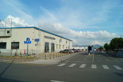 Shenzhen, China: new media trendsetter pier Stock Photo