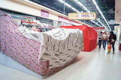 Shenzhen, China: New Year's Eve, shops closed early Royalty Free Stock Photography