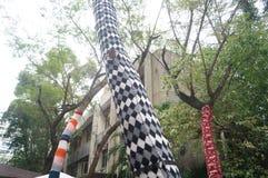 Shenzhen, China: OCT creative culture Park Royalty Free Stock Photo