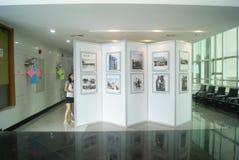 Shenzhen, China: old photo exhibition Stock Photo