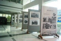 Shenzhen, China: old photo exhibition Stock Images