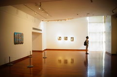 Shenzhen, China: Overseas Chinese Women Artists Works Exhibition Stock Images