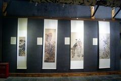 Shenzhen, china: painting exhibition Stock Images
