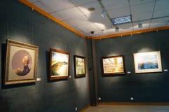 Shenzhen, China: Painting Works Exhibition Stock Photos