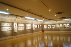 Shenzhen, China: Painting Works Exhibition Stock Photos