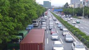 Shenzhen, China: Paisaje del coche del camino del nacional 107 Foto de archivo